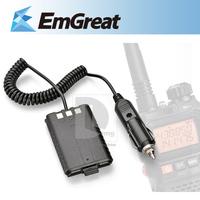 Car Battery Eliminator for BAOFENG UV-5R Dual Band Two Way Radio Walkie Talkie 014372 Free Shipping