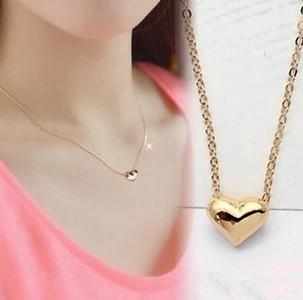 New  Fashion Jewelry Heart Pendnat Nice Short Nice Necklace Gift   NJ-0194