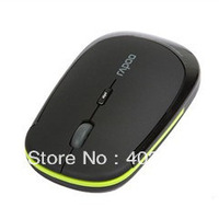 free shipping Mice Rapoo 3500 Mini Thin 10m 2.4 GHz USB Optical Wireless Mouse For PC Laptop pocket's wireless mouse