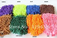 2013 Hot sales free shipping easily clearning microfiber wash Mitt carwash Mitt