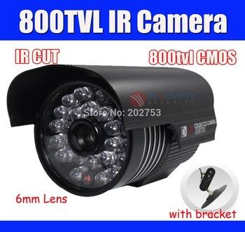 800TVL CCTV Camera with 36pcs IR LEDs Waterproof Outdoor IR Camera 6mm Lens 30m IR Range Security Camera