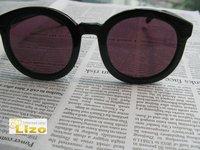 Free shipping designer sunglasses authentic Karen W..ker Super Duper Strength( 08806011) brand sunglasses2012 black