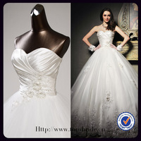 S601 2012 OEM Princess Sweetheart Crystal Beaded Bridal Dresses