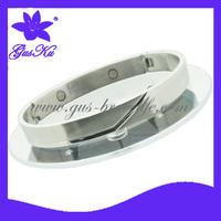 2014 Gus-SBL-012S Hot sale Free shipment  Stock stainless steel magnetic bangles bracelets