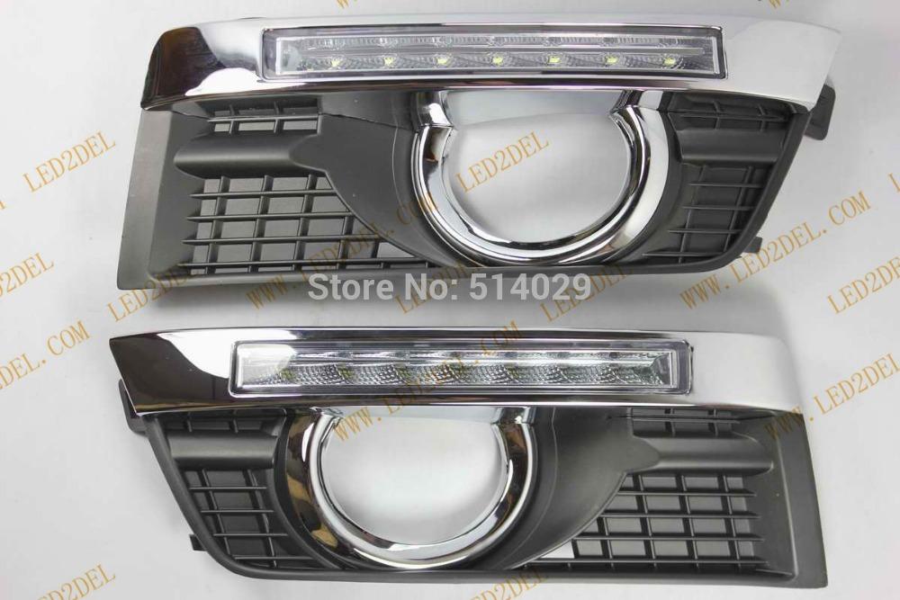 Система освещения Cadillac SRX LED DRL OSRAM Cadillac SRX система освещения brand new 120w osram offroad 12 atv 4wd utv