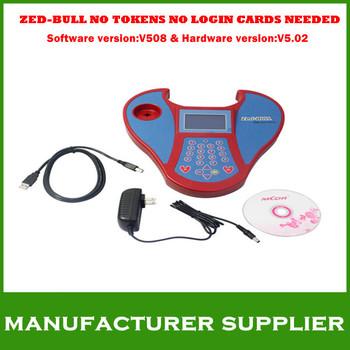 2012 Top-Rated Free Shipping V508 Transponder Clone Key Programmer Tool  ZED-Bull ZEDBULL  zed bull