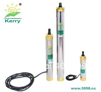 high pressure solar submersible water powered pump for agriculture irrigation