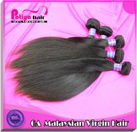 Retail 10''-32'' high quality  Malaysian hair,6A original virgin human hair extension very silky natural straight weave