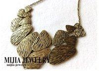 Minimum Order $20 (mixed order)   Fashion accessories vintage irregular geometry necklace