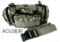 Free walk outdoor multifunctional waist pack cross-body handbag Camouflage bag 3p module waist pack