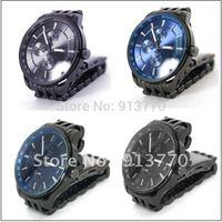 Gift box watch 1Pcs 2012 New Men's Sport Quartz Wrist Watch Stainless Steel Watch Band  H123
