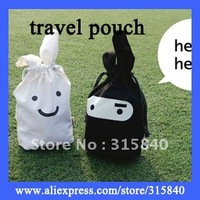 10pcs New 2014 Novelty Households White Balck Ninja Rabbit Oranizer Travel Pouch Fold Storage Bag -- BIB38