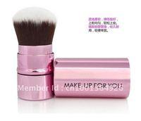Retractable brush KABUKI Brush Multi Tasker mini Size pink cute brand new nice