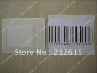 DHL freeshipping EAS RF waterproof & anti-block sticker/care security label 40x40mm(4x4cm)