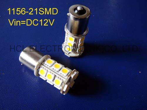 High quality 5050 12V BA15S BAU15S PY21W P21W 1156 1056 1141 car led bulbs free shipping 2pcs/lot(China (Mainland))