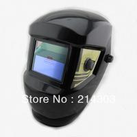 Li battery +solar battery supply outside control auto darkening welding helmet/welder goggles/weld mask  free shipping