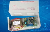 Free Shipment UPS 12V 3A 110v--220v power supply for access control and electric lock  wtih timer function 0~9 sec.