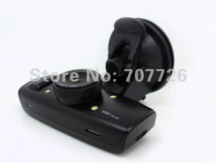 Full 1080P Novotec GS1000 (not 720P Sunplus) Car DVR 9712 lens good quality car camera recorder Christmas gift Drop shipping(China (Mainland))