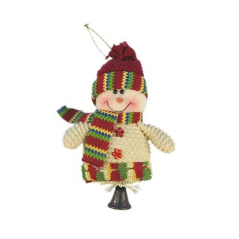 Freeshpping,fabric Christmas decorations,10 pieces/lot Christmas gifts,santa snowman ornament,santa snowman and reindeer, SHB001