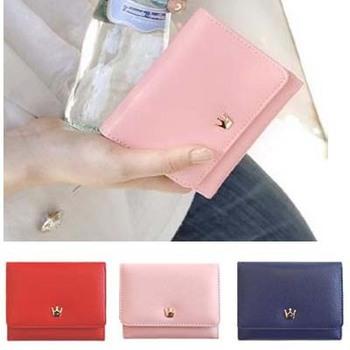 Free Shipping  Fashion Women/men  Leather Wallet Purse  Girl Lady B18