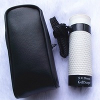 Telescope 5X20 With a Pouch .Wholesale Golf Necessary Monocular Prime Lens Golfscope   Free Shipping