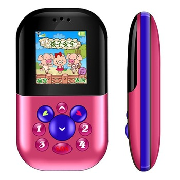 AY688 Kids Phone with GPS and SOS button, Multi Languages, Push To Talk, Smart Mercado, Gift for Children