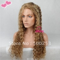 Custom Highlight  Deep Wave Brazilian Virgin Lace Front Human Hair Lace Wigs With Pu In The Front.. . .