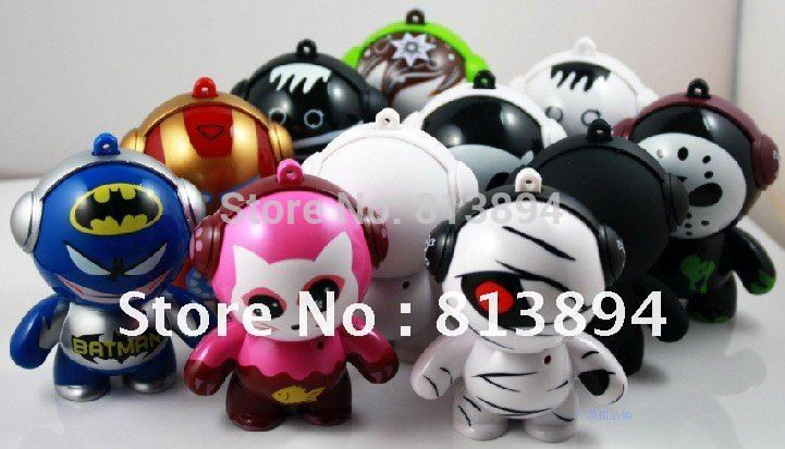Monster mini speaker with lithium battery for MP3, PC, mobile phone(China (Mainland))