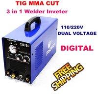 Best quality INVERTER DC TIG/ARC/CUT WELDING MACHINE 520TSC