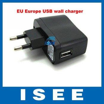 USB AC Power Supply Wall Adapter Adaptor MP3 Charger EU Plug MP3 MP4