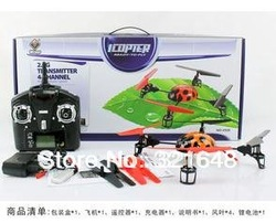 2.4G 4CH RC Parrot AR.Drone Quadricopter WL V929 Ladybird 4-Axis GYRO Beetle 3D Tumbling Fly UFO Aircraft(China (Mainland))
