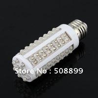 Freeshipping E27 108 LED Pure White Bulb Light Energy Saving LED 7 W Corn Spot Light 85-265V 10pcs/lot+Dropshipping
