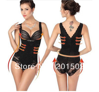 Women's Lace And Smooth Body Briefer Slimming Shapewear Shaper Suit Body Control