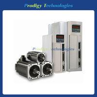 JSMA-LC08ABK/JSDA-20A, 750W, 3000RPM, TECO AC Servo Motor+Drive+Cables