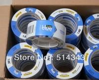 scotch masking tape car painting 3M 2090 Blue/crepe paper material1.88''*60yds(48mm*54.8m)/10pcs/lot