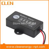 12V Battery Fuel Gauge Indicator 12V Lead-Acid Battery Meter SLA,AGM,GEL,VRLA Battery Tester
