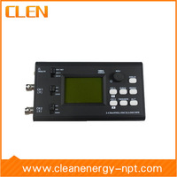 CLEN09402 10MHz Dual-channel LCD Oscilloscope Two Probes Included No battery