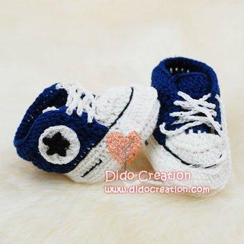 1pairFree shipping DD07027G Handmade Crochet Baby indoor Shoes footwear sneaker
