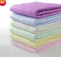 Free shipping--Hot sale 55&quot;x27&quot;(140x70cm), Towel, Bamboo towel, 6 Colors,100%Bamboo fiber, Natural &amp; Eco-friendly