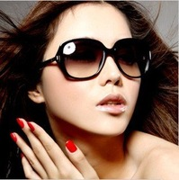 Free shipping hot sell high quality UV protection ladies`new design glasses/sunglasses 1 pcs/lot