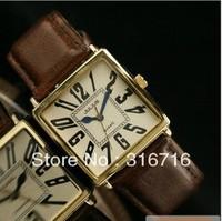 Original Japanese Movement Unisex Wristwatch Julius Vintage Fashion Men and Women Watch Rome style Leather Band JA-479