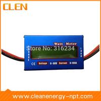 60V/100A Watt Meter LCD Single-phase DC Battery Power Analyzer Balance Voltage Watt Meter Battery Tester