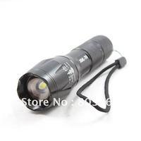 UltraFire 1600LM CREE XM-L T6 LED Flashlight Adjustable Torch 18650/AAA Holster