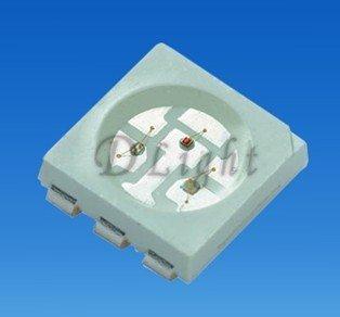 wholesale 5050 RGB SMD LED 3.2-3.6V full color