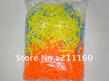 High Quality Golf Plastic Tees 83mm  2000pcs Free Shipping