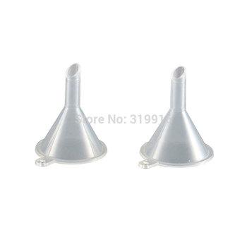 FREE SHIPPING   100% BRAND NEW  perfume funnel ,Eco-friendly mini plastic funnel,tundish ,cosmetic tool,100pc/lot