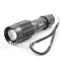 1600 Lumen Zoomable CREE XM-L T6 LED  Flashlight Torch Zoom Lamp Light Z5 Free Shipping