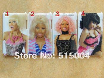 NEW beautiful Nicki Minaj case HARD back cover for ipod touch 4 4th 8pcs/lot+free shipping-NM1
