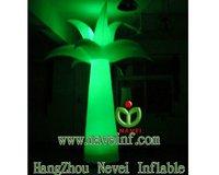 2.5m Inflatable lighting lotus flower column