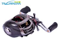 Trulinoya Left Hand DW1000 Baitcasting Fishing Reel  Black 10+1BB  Low Profile Baitcaster
